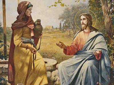 Христос – источник воды живой