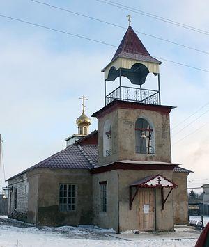 Храм Святого Пророка Илии с. Липовка Базарно-Карабулакского р-на