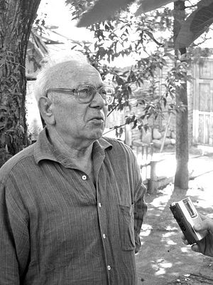 Племянник Матушки Георгий. Фото: Фридон Гегешидзе