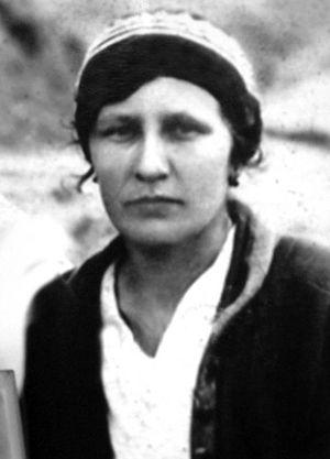 Сидячая Анастасия. Архивное фото