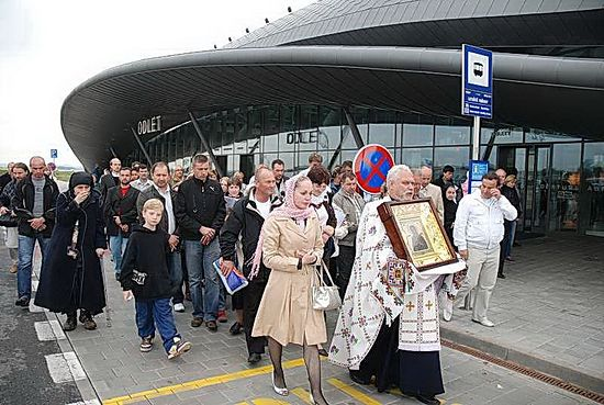 В аэропорту Брно