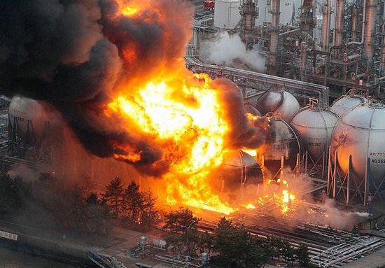 Последствия цунами в Японии