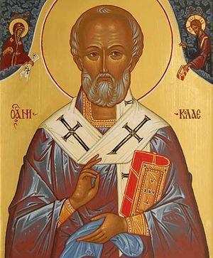Святитель Николай, архиепископ Мир Ликийских