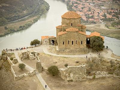 Храмы Грузии с высоты птичьего полета
