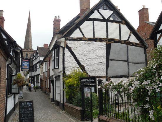 Городок Ледбери, Херефордшир, родина поэта Джона Мейсфилда (фото - И. Лапа)