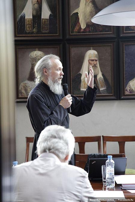 Протоиерей Вадим Леонов, кандидат богословия