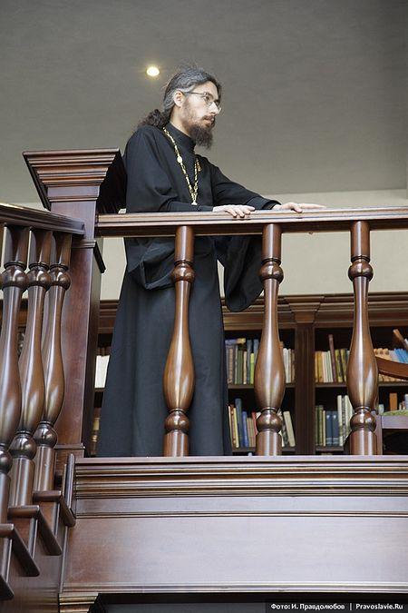 Иеромонах Ириней (Пиковский), преподаватель Сретенской духовной семинарии