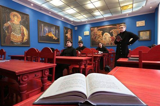 Сретенская духовная семинария. Фото: Monasterium.Ru