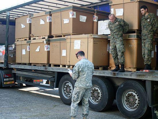 Бањалука-хуманитарна помоћ, фото: СРНА