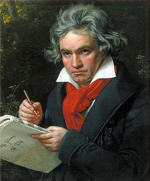 Людвиг ван Бетховен. Художник: Карл Штилер, 1820 год