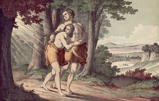 Изгнание Адама и Евы