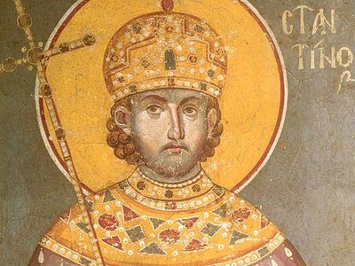 Почитание императора Константина в России