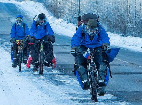 Дорогами памяти. Международная велоэкспедиция «САХА (Я) 2014»