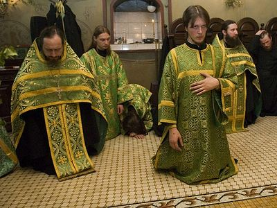 Pentecost? Hooray! On Our Knees!