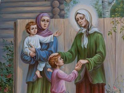 Верность Богу святой Ксении Петербургской