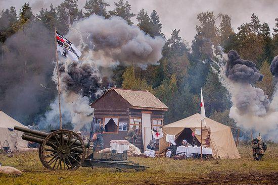 Реконструкция сражений Первой мировой войны