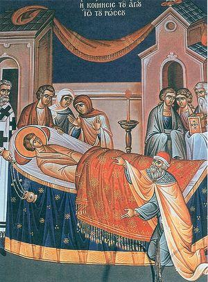 Кончина святого Иоанна Русского