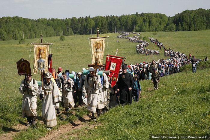 Великорецкий крестный ход. Фото: Владимир Ештокин