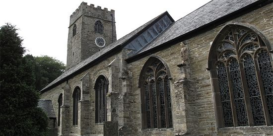 St. Petroc's Church in Padstow, Cornwall