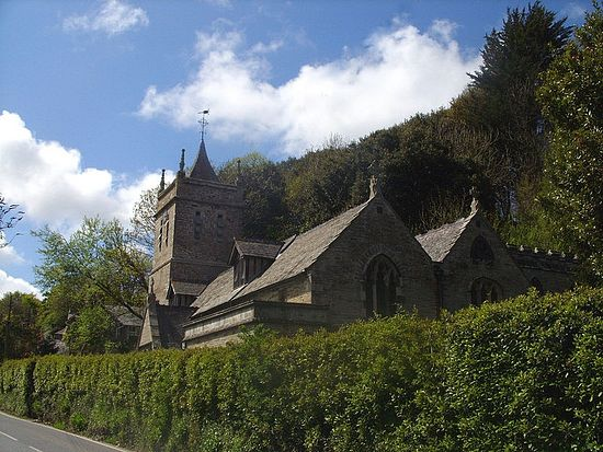 St. Petroc's Church in Little Petherick, Cornwall