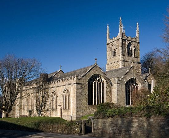 St. Petroc's former Abbey Church in Bodmin, Cornwall