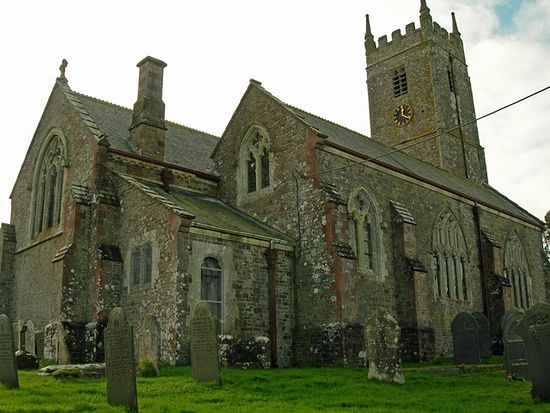 St. Petroc's Church in Petrockstow, Devon