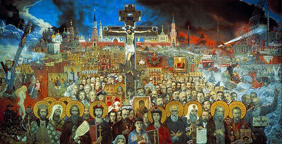 Илья Глазунов. Вечная Россия. 1988 год