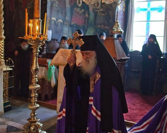 99-летний старец схиархимандрит Иеремия (Алехин)