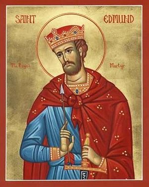 Saint Edmund, King and Martyr