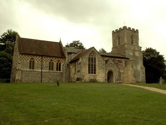 St. Botolph's Church in Hadstock, Essex