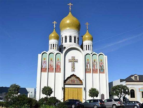 """Кафедральный собор иконы Божией Матери """"Всех скорбящих Радость"""" в г. Сан-Франциско"""