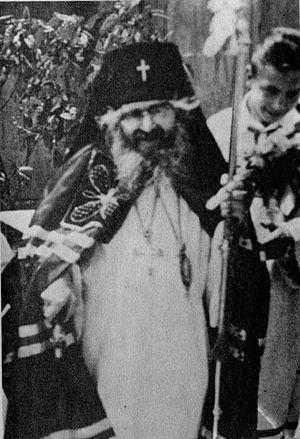 Одна из последних фотографий свт. Иоанна (Сан Франциско, 1966 г.)