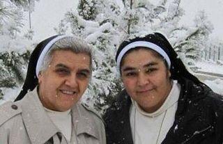 Sisters Miskintah and Utoor