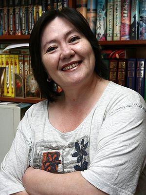 Писательница Ариадна Борисова