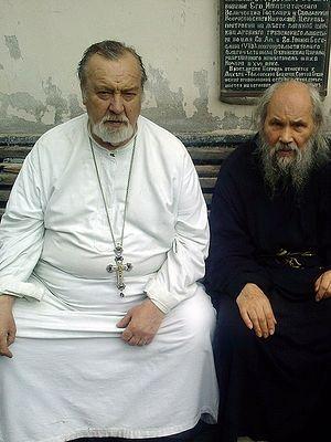 Отец Павел и архимандрит Филарет