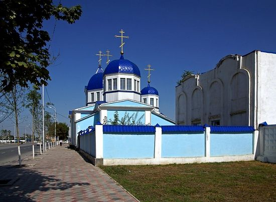 Церковь Михаила Архангела - г. Грозный. Фото: О. Зайцев.