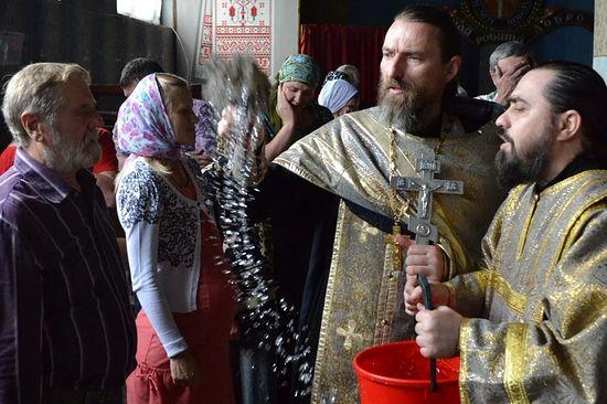 Водосвятный молебен с акафистом Владимирской иконе Божией Матери