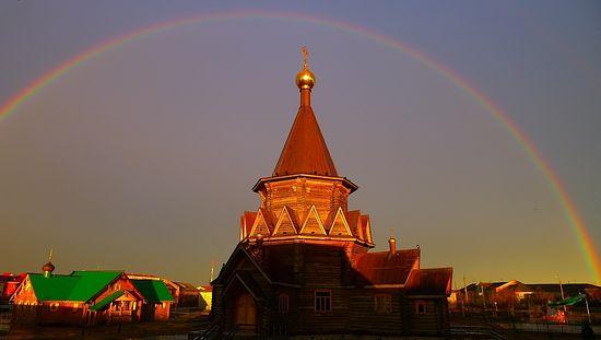 Богоявленский Кафедральный собор г. Нарьян-Мар . фото: http://www.orthodox-arctica.ru/