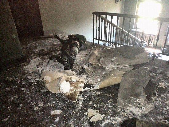 В одесском Доме профсоюзов после поджога 2 мая 2014 года