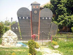Памятники боевикам УЧК
