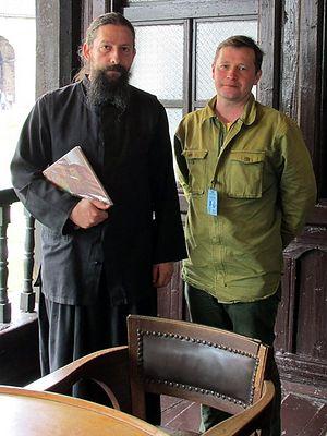 Иеромонах Петр (Роевич) и Петр Давыдов