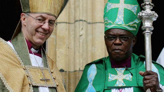 Архиепископы Кентерберийский (слева) и Йоркский были едины в своем решении