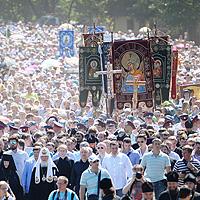 Крестный ход в честь 700-летия преп. Сергия