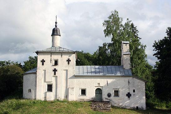 Изборск. Церковь Николы с Городища XVII-XVIII вв.