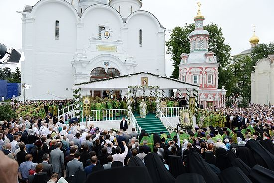 Торжества в Троице-Сергиевой Лавре