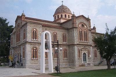 Храм в селении Амбелонас.