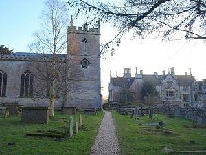 St. Kenelm's Church in Alderley, Glos