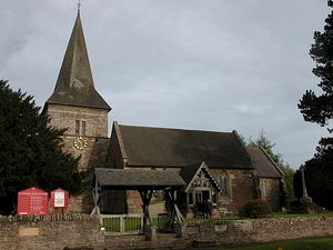 St. Kenelm's Church in Clifton-upon-Teme, Worcs