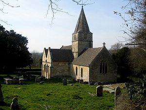 St. Kenelm's Church in Sapperton, Gloucestershire