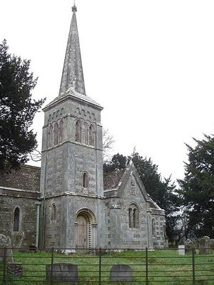 St. Kenelm's Church in Stanbridge, Dorset